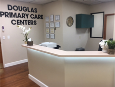 Douglas Primary Care Center Reception