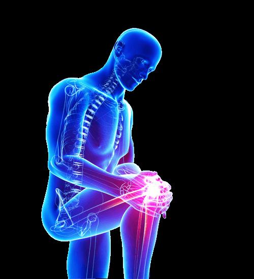 Men With Knee Pain