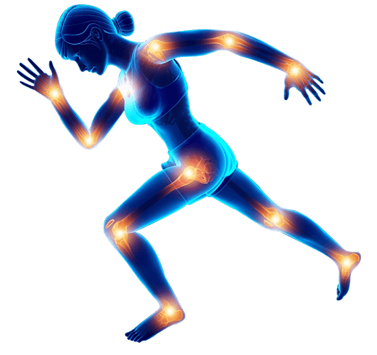 runing-woman-blue-vector
